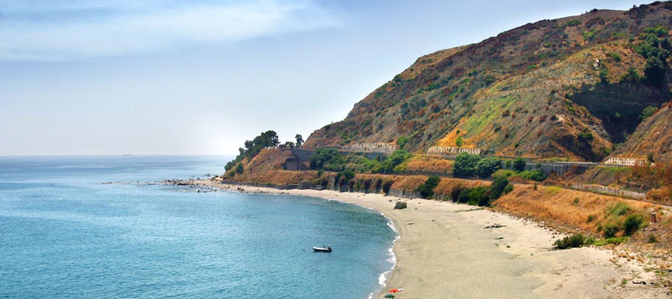 La spiaggia di Capo Bruzzano